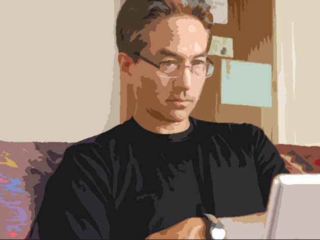 Jeff contemplating