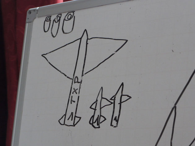 The TXP rocket