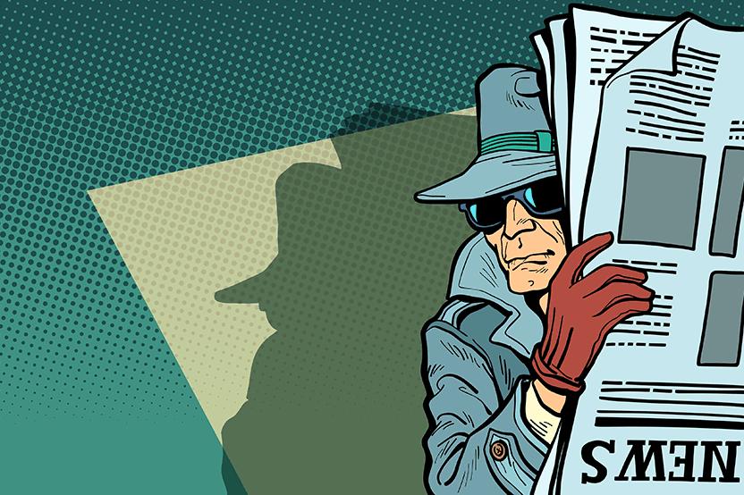 Secret Agent In Hiding