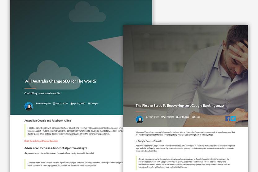 Proximo Web Design showcase 2