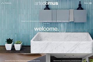 Artedomus website