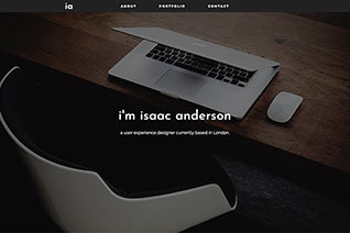 Issac Anderson website