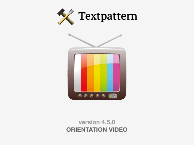 Textpattern CMS 4.5.0 released: a hive of activity / Textpattern CMS